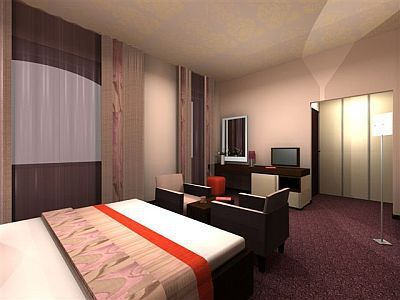 Double room of Hotel Carat Budapest - A hotel near to the atractions of the Hungarian capital