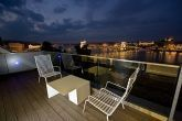 Fascinating view on the riverbank - Hotel Lanchid 19 - suite with terrace