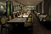 Elegant restaurant of Andrassy Hotel near Oktogon