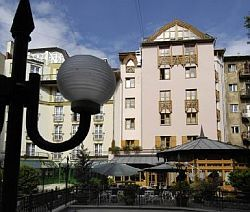 Hotel Sissi in Budapest - hotel with WiFi Internet and garage in the centre of Budapest