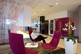 Novotel City Budapest refurbished nice lobby in Buda in the Mom Park